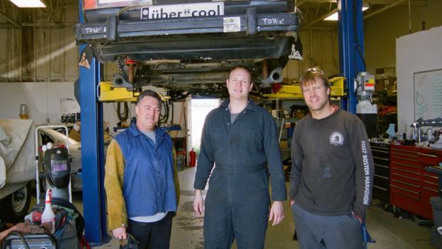 Brotherhood of the wrench (Credit: Photo: Nick Czap)