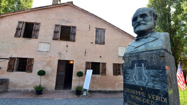 Verdi's Roncole home (Credit: Giuseppe Cacace/AFP/Getty)