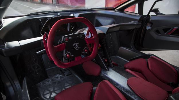 Richard Hammond drives the Sesto Elemento (Credit: Justin Leighton)