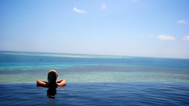 Relaxing at sea (Credit: Megan Snedden)