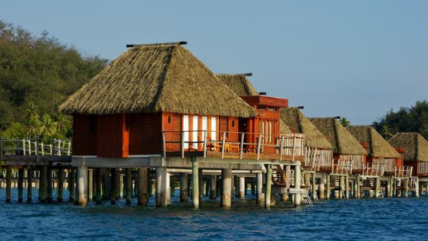 Accommodation on the water (Credit: Megan Snedden)