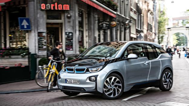 BMW's electric city car, the i3