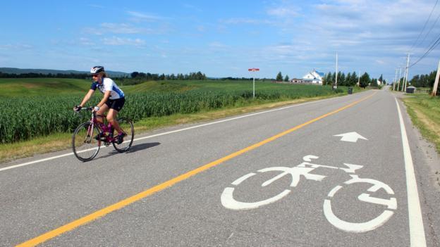 Cycling La Route Verte (Credit: Graeme Green)