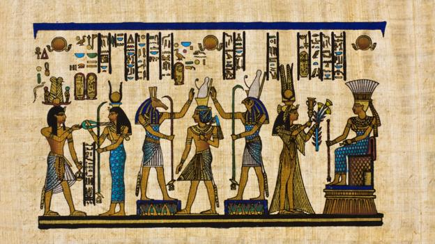 Egyptian ancient papyrus (Credit: Ewg3D/Getty)