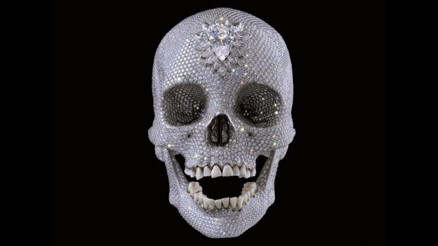 Kingdom of the crystal skull (Credit: Damien Hirst and Science Ltd)