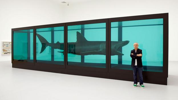 Great white art (Credit: Damien Hirst and Science Ltd)