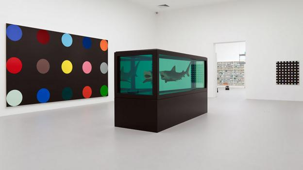 Fishing for compliments (Credit: Damien Hirst and Science Ltd)