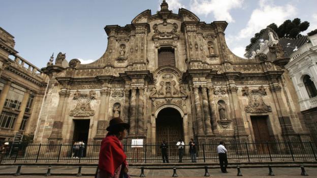The Church of the Society of Jesus (Credit: Rodrigo Buendia/AFP/Getty)