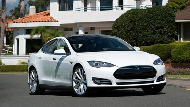 Tesla Model S (Credit: Tesla Motors)