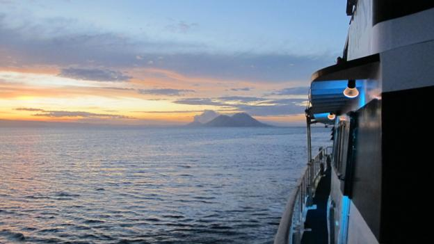 A dive excursion off the coast of Rabaul (Credit: Emily Saladino)