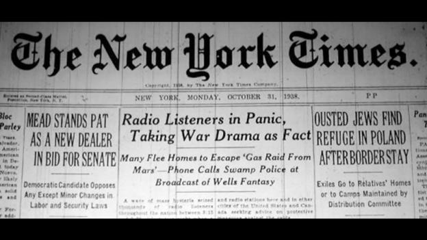 Print killed the radio star (Credit: wikimedia)