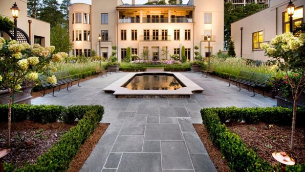 The English Garden at Mandarin Oriental, Atlanta