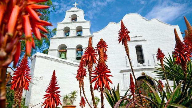 The Mission Basilica San Diego de Alcala (Credit: David Madison/Getty)