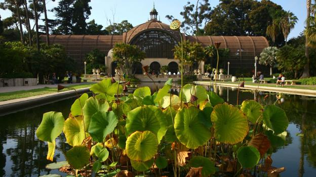 The Botanical Building at Balboa Park (Credit: Stephen Dunn/Getty)