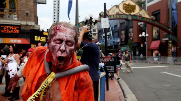 Comic Con (Credit: Sandy Huffaker/Getty)