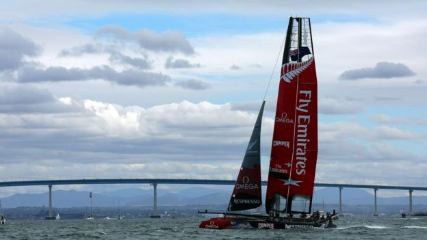 The America's Cup World Series (Credit: Donald Miralle/Getty)