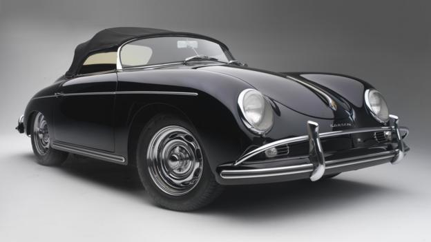Type 356 Speedster 1600 Super (1958) (Credit: Peter Harholdt)