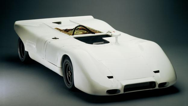 Type 917 16-cylinder Spyder Prototype (1969) (Credit: Porsche Museum)