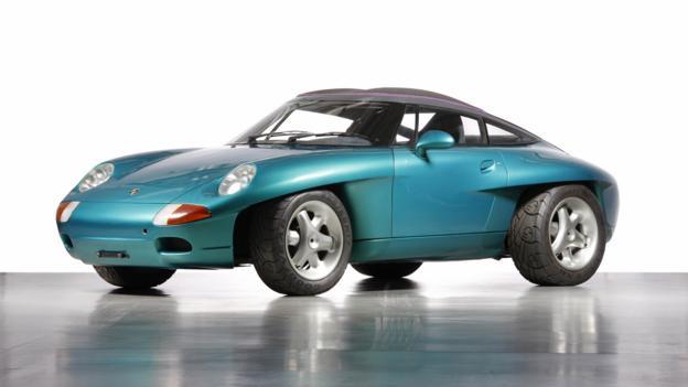 Panamericana Concept Car (1989) (Credit: Porsche Museum)