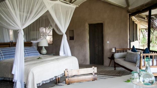 The airy villas at Lamai Serengeti (Credit: Colleen Clark)