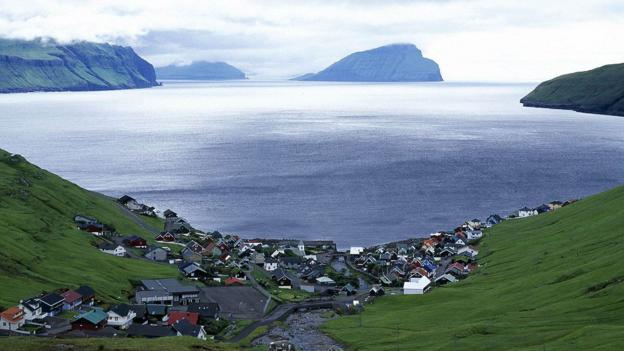 Kvívík, a village on the west coast of Streymoy (Credit: Páll Steffansson)