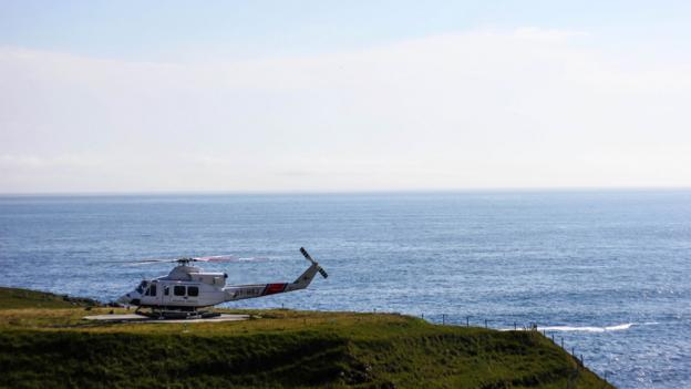 The island of Mykines is reachable only by helicopter or boat (Credit: Gavin Haines)