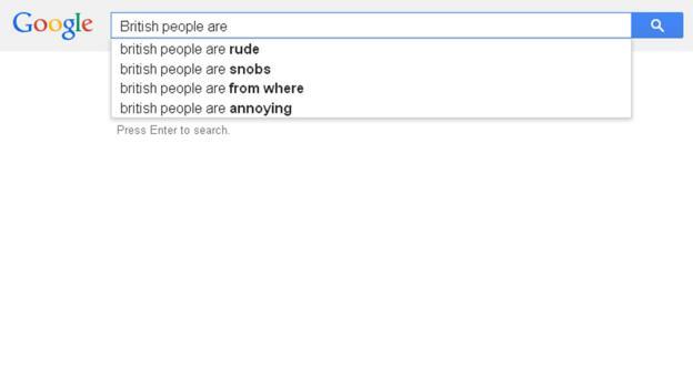 British people are...
