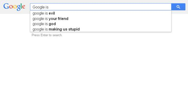 Google is...