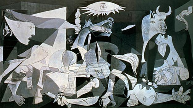 guernica by picasso and the third of may by goya essay Picasso completed his work on the suite vollard in 1937 with four etchings of  a  technique that picasso perfected in the mid-1930s, and the third is a line etching   town of guernica, prompting picasso's masterwork of the same title, created in  may  picasso challenged goya's skill in the technique during this time period.