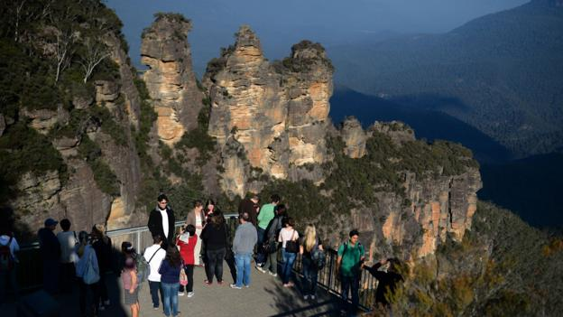 The Blue Mountains (Credit: Saeed Khan/AFP/Getty)