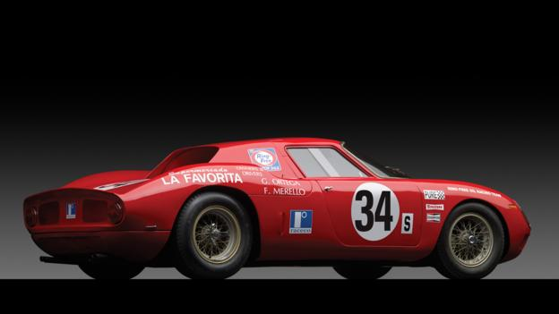 1964 Ferrari 250 LM by Carrozzeria Scaglietti (Credit: Michael Furman/RM Auctions)
