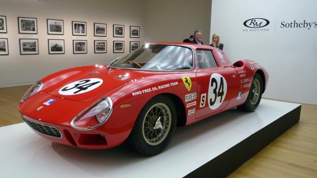 1964 Ferrari 250 LM by Carrozzeria Scaglietti (Credit: Jonathan Schultz)