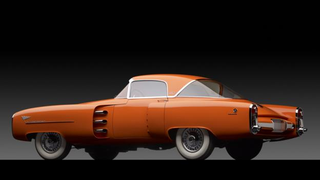 1955 Lincoln Indianapolis Exclusive Study by Carrozzeria Boano Torino (Credit: Michael Furman/RM Auctions)