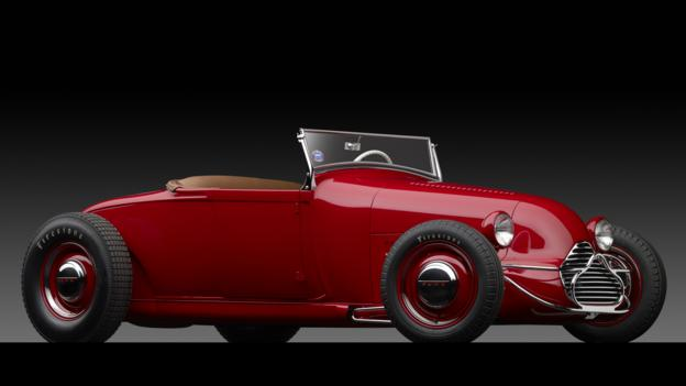 1929 Ford 'Dick Flint' Roadster by Valley Custom Shop (Credit: Michael Furman/RM Auctions)