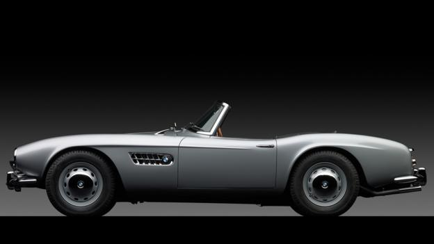 1958 BMW 507 Series II Roadster (Credit: Michael Furman/RM Auctions)