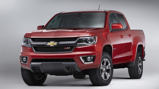 2015 Chevrolet Colorado Z71 (Credit: General Motors)