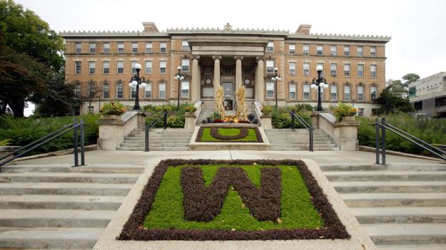 The Agricultural Hall at the University of Wisconsin (Credit: Mike McGinnis/Getty)