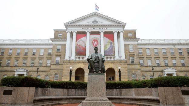 Bascom Hall at the University of Wisconsin (Credit: Mike McGinnis/Getty)