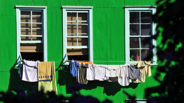 A typical house in Valparaiso (Credit: Martin Bernetti/AFP/Getty)