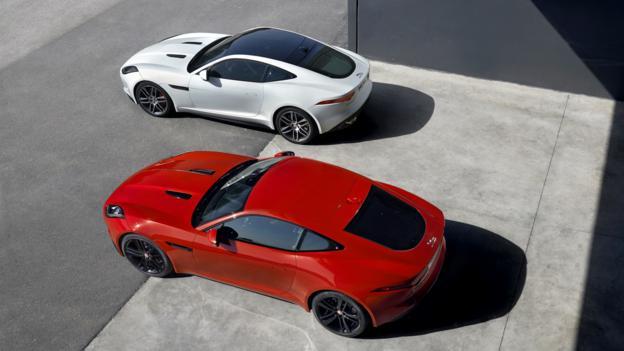 2015 Jaguar F-Type Coupe R and S (Credit: Jaguar Land Rover)
