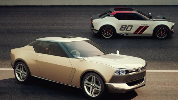 Nissan IDx Freeflow and IDx Nismo concepts (Credit: Nissan North America)