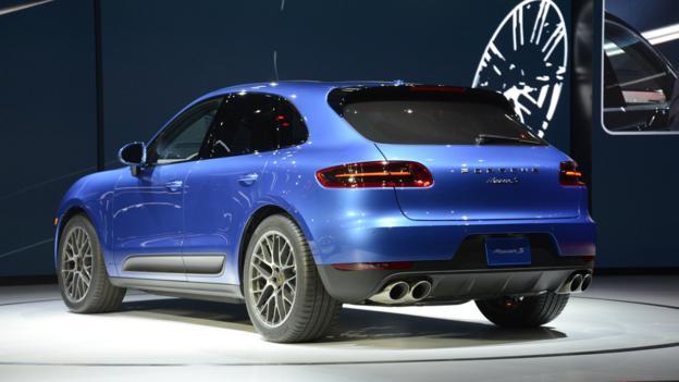 2015 Porsche Macan (Credit: Newspress)