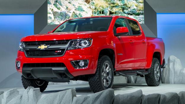 BBC - Autos - Colorado is Chevrolet's antidote for truck bloat