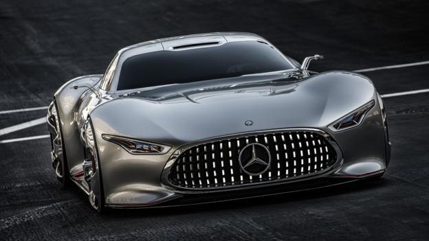 Mercedes-Benz AMG Vision Gran Turismo (Credit: Mercedes-Benz USA)