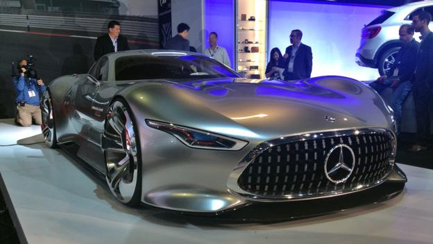 Mercedes-Benz AMG Vision Gran Turismo (Credit: Matthew Phenix)