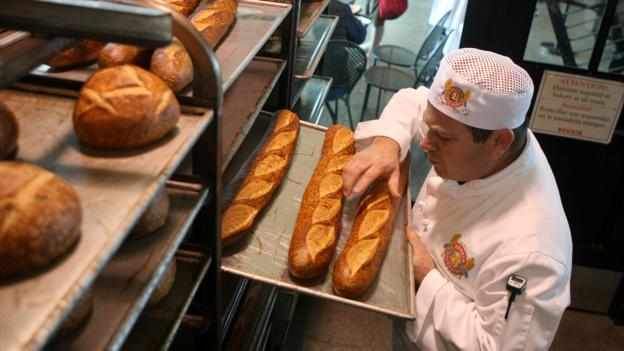 Freshly baked loaves (Credit: Getty Images)