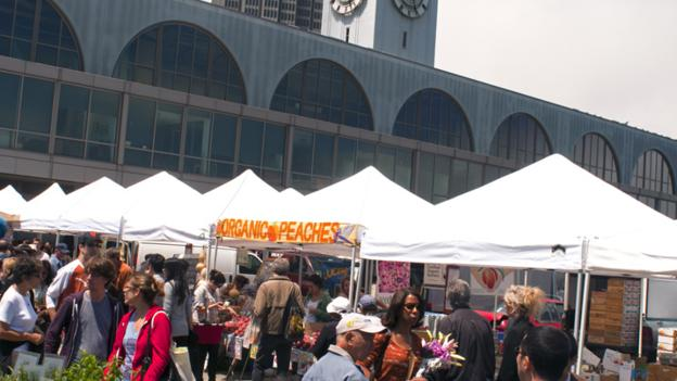 Ferry Plaza Farmers Market (Credit: Lonely Planet/Getty)