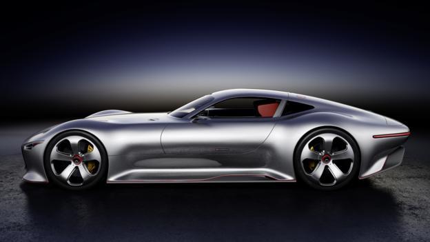Mercedes-Benz AMG Vision Gran Turismo (Credit: Daimler)