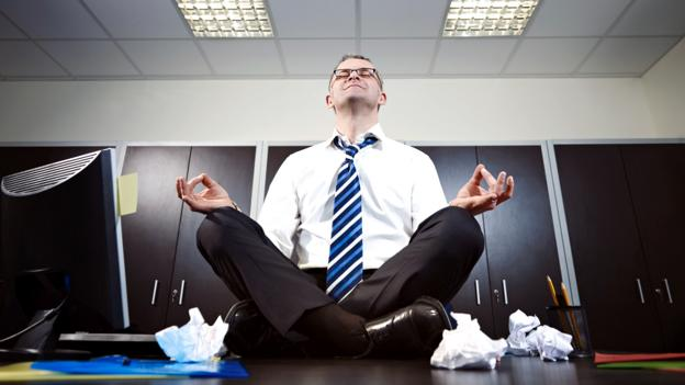 How can employees reduce stress at work? (Thinkstock)