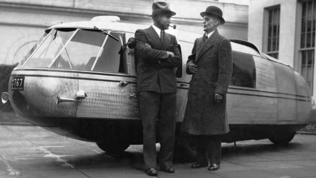 Dymaxion car reborn (Credit: Underwood Archives/Getty Images)